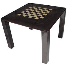 tura game table for chess and cards modern game table h44