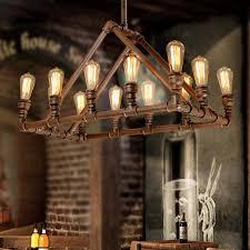 industrial lighting design. Design 12-Light Industrial Modern Lighting Bar Counter
