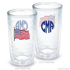 personalized us flag tervis tumblers