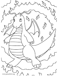 Small Picture Pokmon Dragonite coloring page