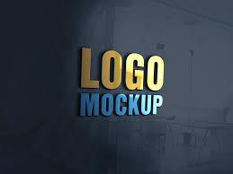 Logo Mock Up Glass Window Mockup Psd Template On Behance