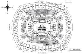 Metlife Stadium Wrestlemania 35 Seating Chart