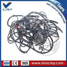 online buy whole komatsu wiring harness from komatsu 207 06 71114 excavator external wiring harness for komatsu pc350 7