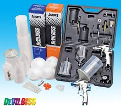 Devilbiss 2 Gun Kit Dekups System Devilbiss Spray Guns