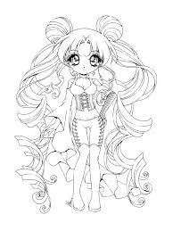Small Picture Chibi Coloring Pages