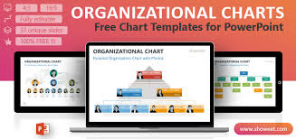 Online Hierarchy Chart Maker Free Free Organizational Chart Slides Powerpoint Template