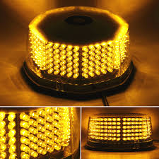 240 Led Emergency Light 240 Led Strobe Light Beacon 14 Patterns Car Truck Construction Car Vehicle Safety Warning Emergency Light Beacon With Magnetic Base Amber