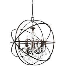 elegant lighting 6 light inch vintage bronze chandelier ceiling urban classic dunwoody oil rubbed chandeliers