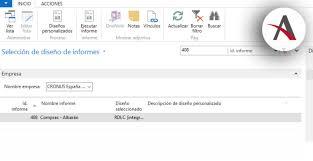 formato de informe en word diseños personalizados y word layouts en dynamics nav