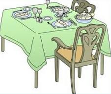 fancy dinner table clipart. online clipart dining room table, awesome collection fancy dinner table