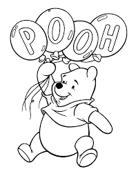 Winnie The Pooh Coloring Pages Images Coloring Disney 14612