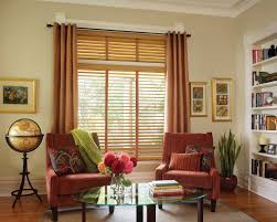 Wood Window Treatments Ideas Curtain Ideas With Wooden Blinds Decorate The House With