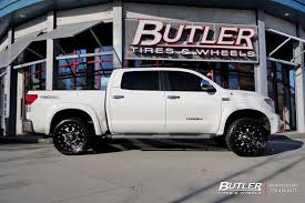 Toyota Tundra with 20in Fuel Krank Wheels exclusively from Butler ...