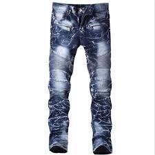 Amazon Designer Jeans Mens Jeans Printing Design Denim Sales Champion Creases