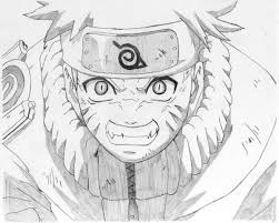Come Disegnare Naruto Con Una Matita Semplice