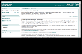 Payroll Download First Time Users Download And Install Basic Paye Tools Gov Uk