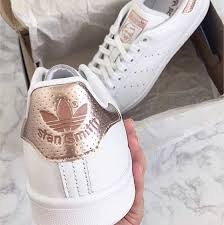 adidas shoes pink and gold. adidas stan smith rose gold shoes pink and