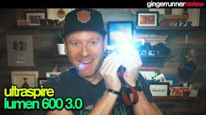 Ultraspire Waist Light Ultraspire Lumen 600 3 0 Review Best Light For Night Running The Ginger Runner