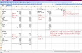 how to make a budget how to make a budget includes basic monthly spreadsheet
