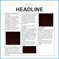 Newspaper Template Free Google Docs Newspaper Ppt Template Atlasapp Co