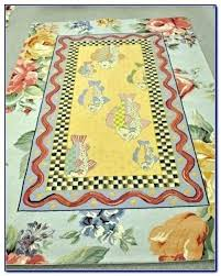 mackenzie childs rug poppy