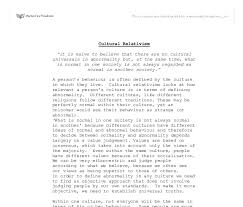 cultural relativism a level psychology marked by teachers com document image preview