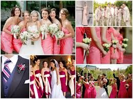 pink summer wedding themes