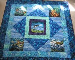 Ocean Panels Quilt | Panel quilts, Patterns and Fish quilt & Ocean Panels Quilt Adamdwight.com
