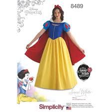Costume Sewing Patterns Stunning Misses Snow White Costume Simplicity Sewing Pattern 48 Sew Essential