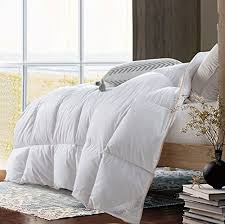 goose down comforter king size. Modren Size ROSECOSE Luxurious Lightweight Goose Down Comforter King Size Duvet Insert  Solid White 1200 Thread Count 750 Fill Power 100 Cotton Shell Hypoallergenic  On