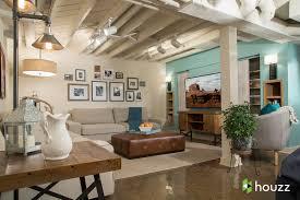 Kristen Bell Remodels Sister Saras Basement - Ununfinished basement before and after