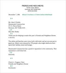12 Business Letter Templates Free Samples Examples Format