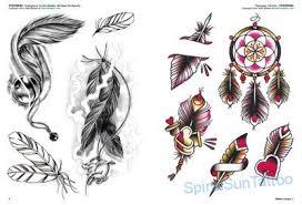 Tattoo Flash Piume E Uccelli