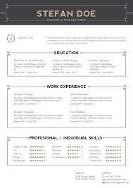 Examples Of Resumes Modern Resume Layout Free Samples Amp Format