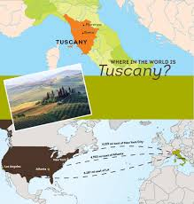 tuscany is located on the northwestern coast of italy surrounded by towering mountains the birthplace of the renaissance tuscany has been a cultural hub