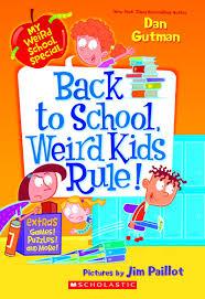 book back to weird kids rule by dan gutman