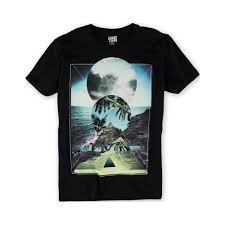 Hang Ten Size Chart Hang Ten Mens On The Rocks Graphic T Shirt Mens Apparel