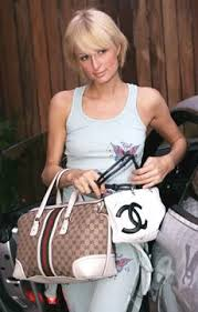 gucci bags celebrity. paris hilton with gucci and chanel. posted in celebrity bags i