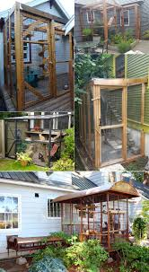 Catio inspiration. Worried about letting your cat outdoors? Build a cat  enclosure to help