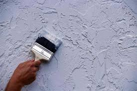 techniques for painting a stucco home