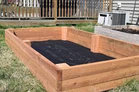 raised garden bed woodlogger