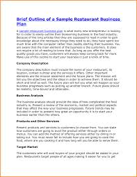 industry analysis template 10 restaurant business plan template letter word industry analysis