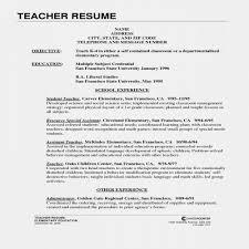 Resume For Teacher Best Of Cover Letter Kindergarten Teacher Cover