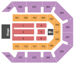 Star Of The Desert Arena Seating Charts For All 2019 Events