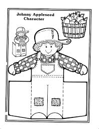 Small Picture Johnny Appleseed Coloring Page Pictures Coloring Johnny Appleseed