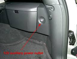 jeep grand cherokee wj cargo area power outlet 12v cargo area power outlet