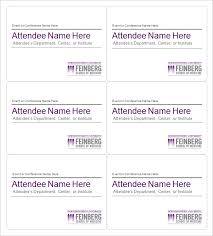 Avery Template For Name Badges Elegant 50 Awesome Name Tag Template