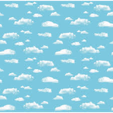 Clouds Design Fadeless Design Display Rolls Clouds Hope Education
