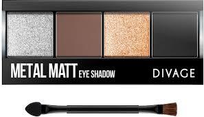 Тени для век Divage <b>Palettes</b> Eye Shadow, Тон <b>Metal</b> Matt № 01 ...