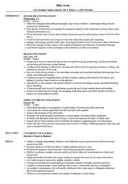 Branding Resume Template Marketing Manager Example Examples Free